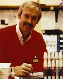 Don Bluth smiling in Sweater
