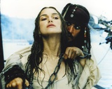 Keira Knightley Scene from the Movie Pirates of the Caribbean