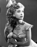 Gloria DeHaven Curly Hair Side View Posed