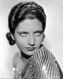 Kay Francis on a Stripe Top Portrait