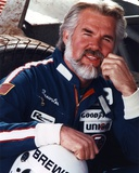 Kenny Rogers as Racer Close Up Portrait
