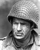 James Caan in Military Uniform With Helmet
