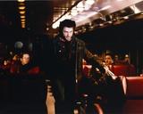 Hugh Jackman as Wolverine in X-Men Movie  Walking on Aisle of a Vehicle
