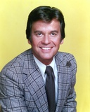 Dick Clark Portrait in Yellow Background