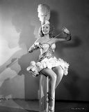 Ann Jeffreys Holding a Sword