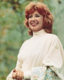 Beverly Sills in White Dress Portrait