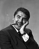 Ernie Kovacs in Black Suit With Cigarette