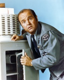 Dom Deluise in Police Uniform
