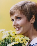 Florence Henderson with Sunflower Portrait
