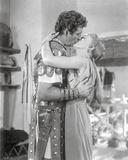 Quo Vadis Kissing Scene in Black and White