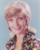 Florence Henderson Happy in Floral Dress