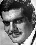 Omar Sharif Close Up Portrait