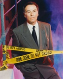 Dean Stockwell Posed in Police Line Portrait