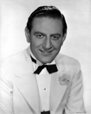 Guy Lombardo in White With White Background