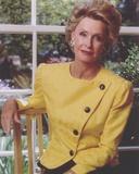 Dina Merrill Posed in Yellow Dress