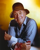Walter Brennan posed in Portrait