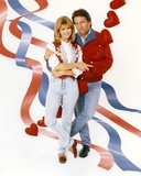John Ritter Taking a Picture with His Wife in a Portrait