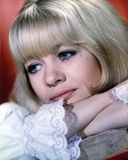 Judy Geeson Showing Her Cute Smile in a Close Up Portrait