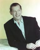 Milton Berle Portrait smiling in Coat
