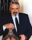 Raymond Burr Leaning Pose wearing Tuxedo Portrait