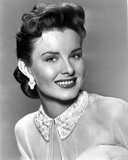 Jean Peters on smiling Portrait