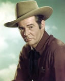 Robert Ryan in Formal Outfit With Hat Portrait