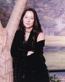 Meg Tilly Portrait in Black Dress