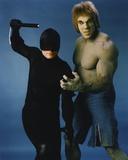 Lou Ferrigno as Incredible Hulk with Dare Devil Portrait