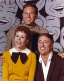 Rowan & Martin Laugh In Cast smiling in Portrait