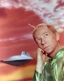 Ray Walston Portrait in Green Alien Costume