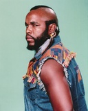 Mister T Side View Serious Pose Portrait