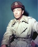 Robert Taylor Posed in Military Outfit Portrait