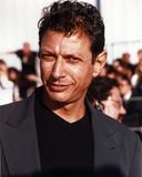 Jeff Goldblum Posed in Black Polo
