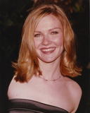 Kirsten Dunst smiling Close Up Portrait
