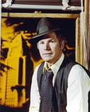 Wayne Rogers in Formal Outfit With Hat Portrait