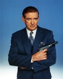 Rod Taylor Cross-Arms Posed with Gun Portrait