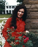 Loretta Lynn in Red Dress