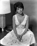 Suzanne Pleshette wearing a Printed Dress
