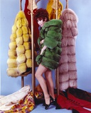 Michele Lee posed in Portrait