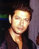 Jeff Goldblum Posed in Dark Polo
