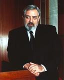 Raymond Burr standing and Looking Away wearing Tuxedo Portrait