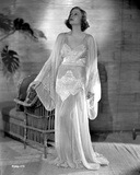 Talullah Bankhead on an White Gown