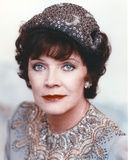 Polly Bergen Close Up Portrait in Lace Dress