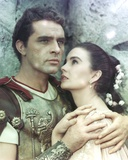 Richard Burton in Gladiator Outfit Close Up Couple Portrait