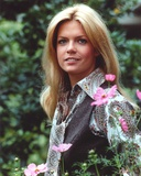 Meredith Baxter Portrait in Floral Dress