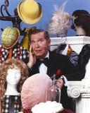 Milton Berle in Tuxedo With Cartoons Portrait