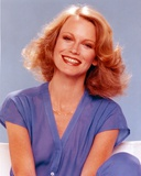Shelley Hack Portrait in Blue Blouse