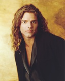 Ricky Martin Posed in Coat Portrait