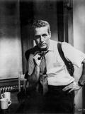 Paul Newman Holding Coat in Classic