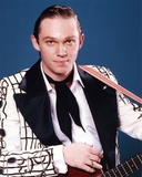 Richard Thomas Posed in White Coat